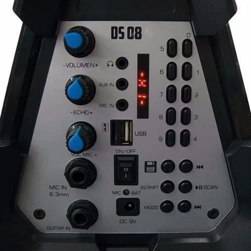 multireproductor portatil stromberg carlson ds08 parlante