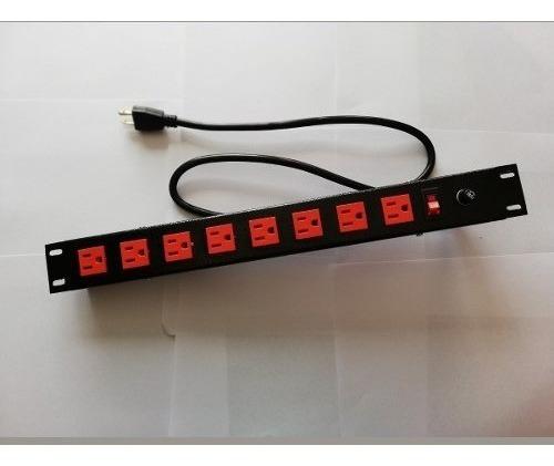 multitoma para rack 8 salidas soportetecnologico pdu