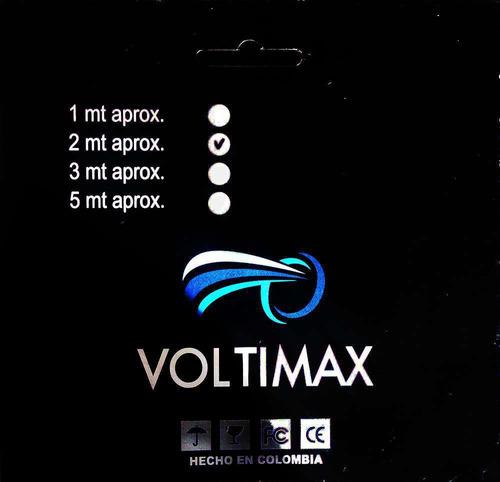 multitoma voltimax 8 tomas 2 metros de cable 110v
