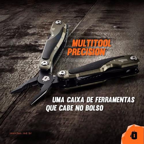 multitool precision invictus alicate canivete tático militar