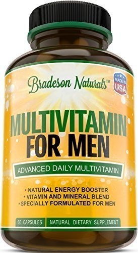 multivitamin for men with vitamins a b1 b2 b3 b5 b6 b12 c