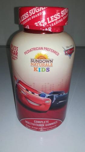 multivitamin para niños y niñas 200 gomitas marca sundown