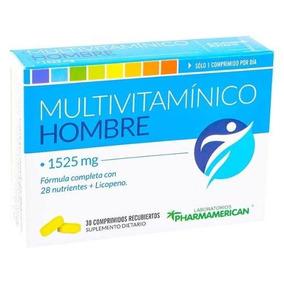 16584f19c5bb55 Suplemento Multivitaminico Hombre en Mercado Libre Argentina
