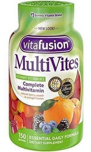 multivitaminico vitafusion vitamina para adultos 150 gomas