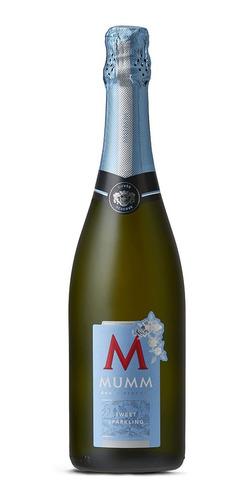mumm cuvee sweet sparkling botella de 750 ml