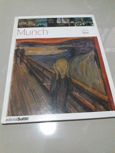 munch. colección grandes maestros de la pintura. usado