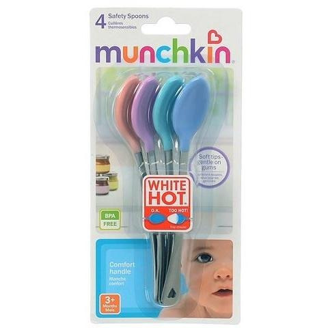 munchkin - white hot - colheres termo sensíveis