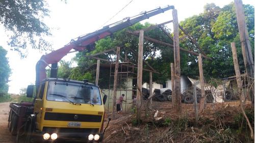 munck,  aluguel,  10 ton  e 23 m de lanca