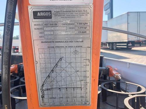 munck argos agi 7.5 3h com carroceria para aferição=balança