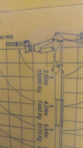 munck phd 3000.5 ano 2014   equipamento semi novo