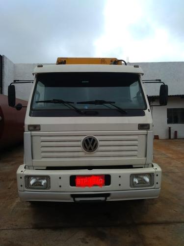munck  vw 16220 l - único dono !!   caminhão imperdível