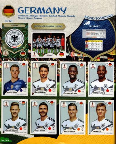 mundial fútbol album