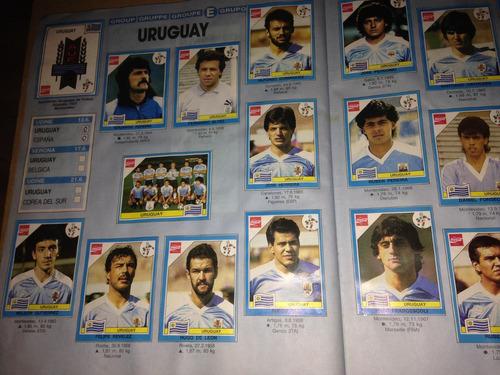 mundial italia 1990 // album completo de figuritas