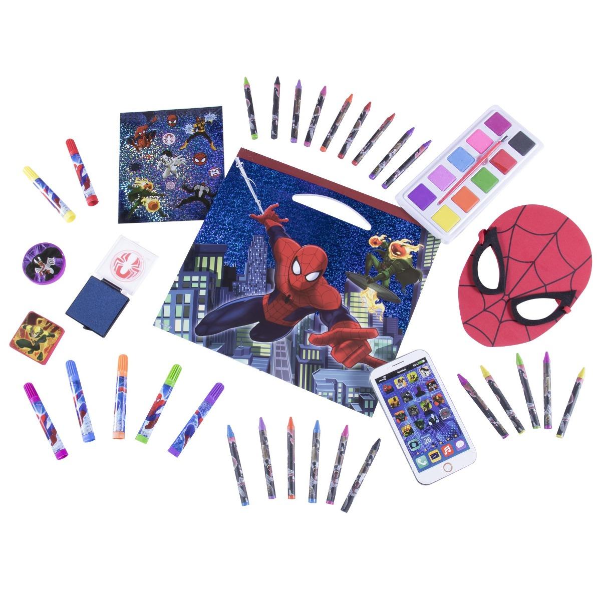 Excepcional Linda Araña Web Para Colorear Viñeta - Dibujos Para ...