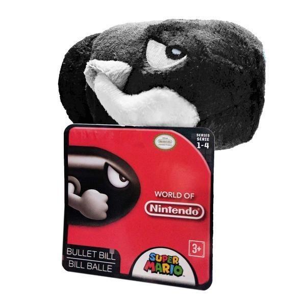 Mundo De Nintendo Super Mario Bullet Bill 5 Pulgadas Peluche