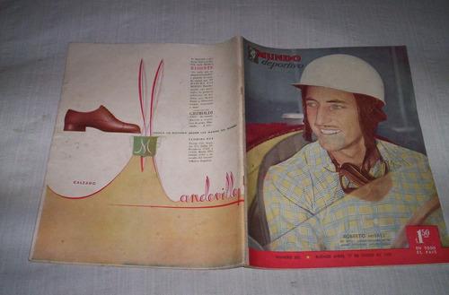 mundo deportivo antiguas revistas publicaciones argentinas.