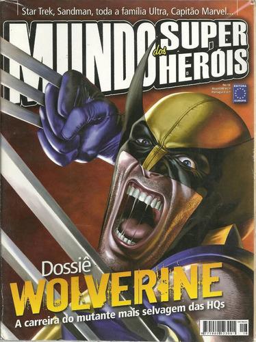 mundo dos super-herois 16 - europa - bonellihq cx99 h19