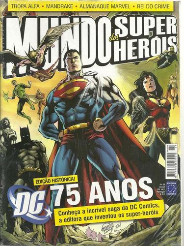 mundo dos super-herois 23 - europa - bonellihq cx75 h19