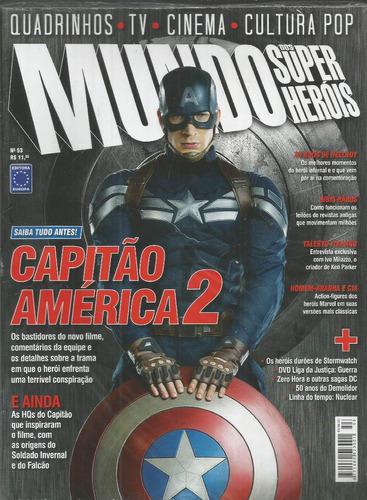 mundo dos super-herois 53 - europa - bonellihq cx75 g19