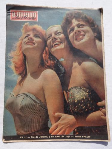 mundo ilustrado nº 11: miss brasil - flamengo - p.e. - 1956