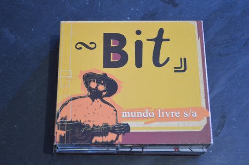 mundo livre s/a bit box 4 cds + 1 dvd