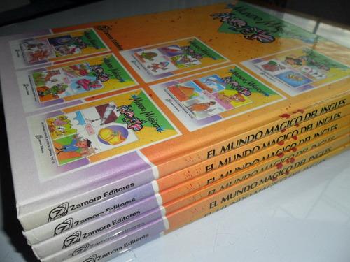 mundo mágico del inglés diccionario ilustrado 6 tomos
