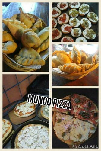 mundo pizza ( 100% casero y abundante)