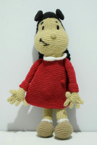 muñeca a crochet. peluche amigurumi