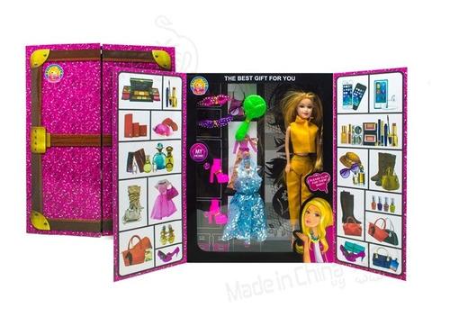 muñeca + accesorios cf-852