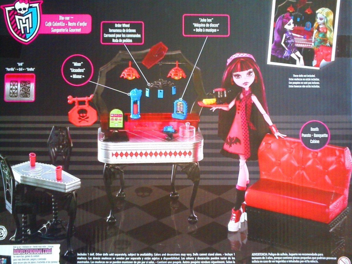 Monster High Set Con Muneca Draculaura Muebles Y Accesorios - $ 1,650.00 en M...