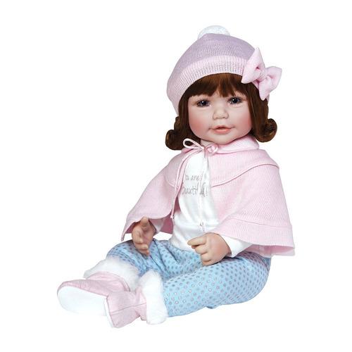 muñeca adora bebé jolie 20''