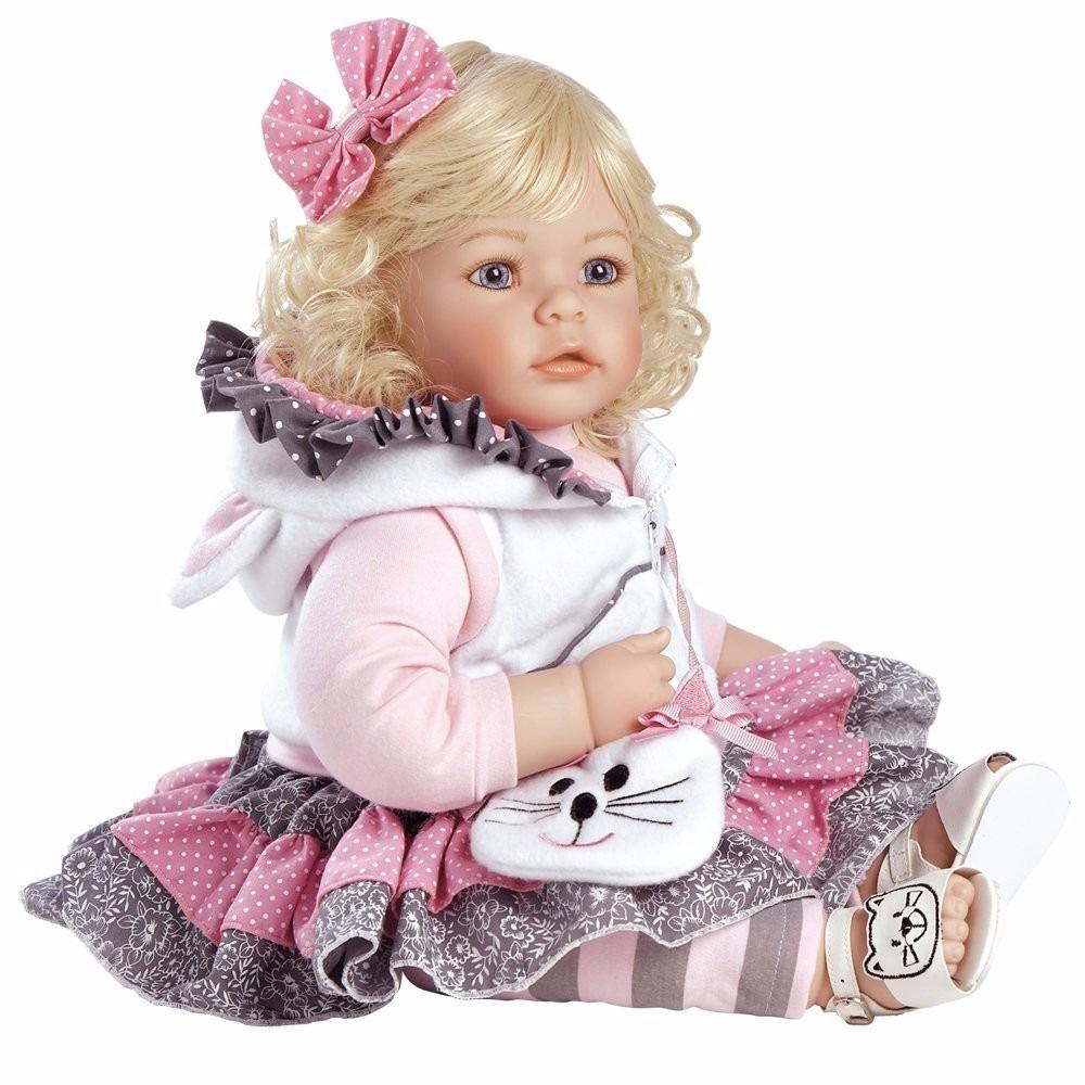 Mu 241 Eca Adora Tuddler Cuddly Ojos Azules Cabello Casta 241 O