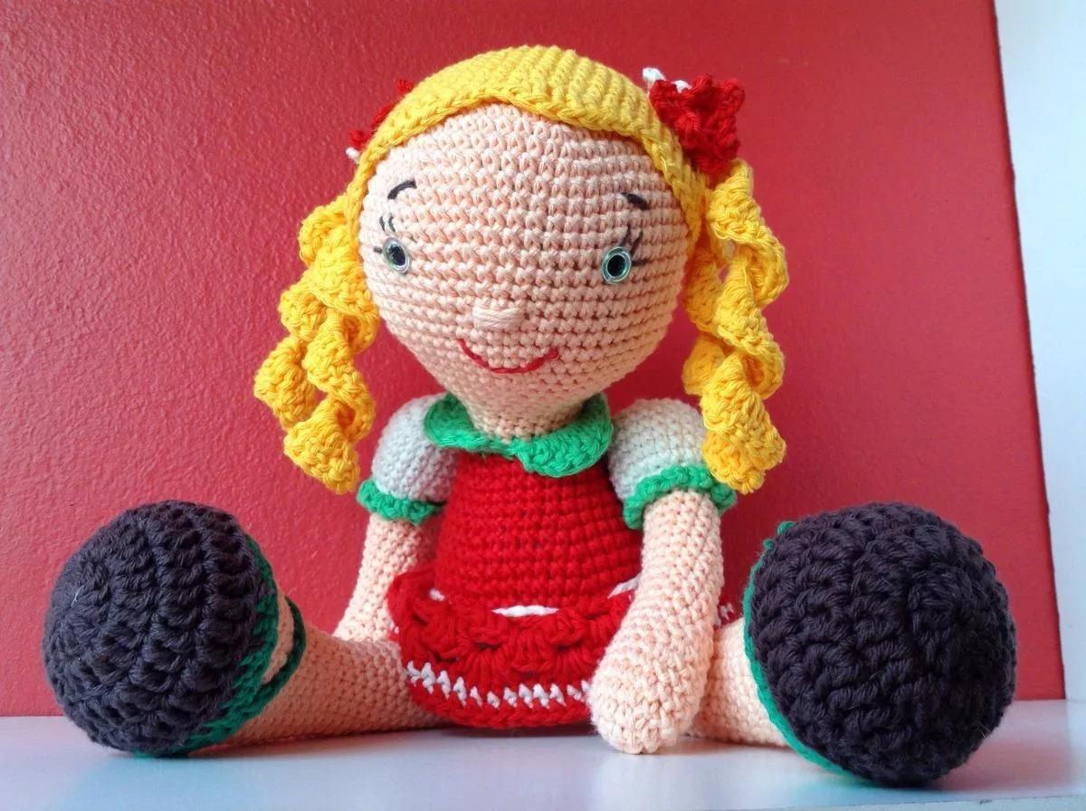 Amigurumis Muñecas : Muñeca amigurumi cm tejida crochet amigurumis en
