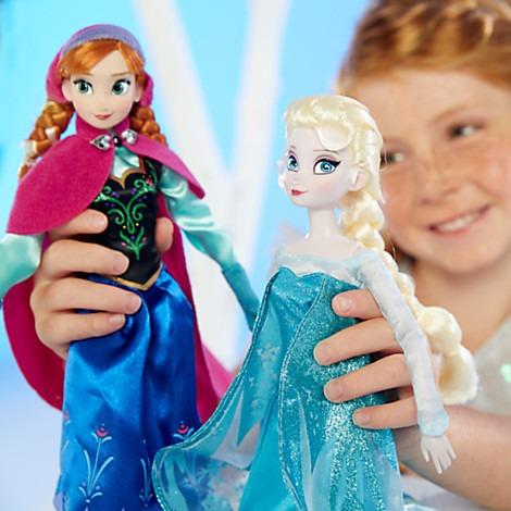 muñeca anna de frozen original disney