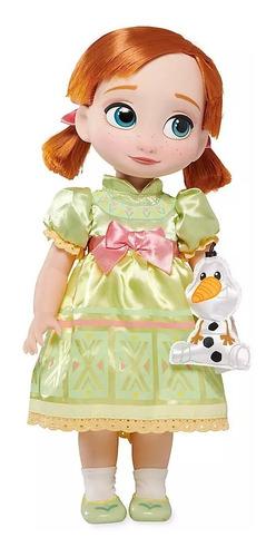 muñeca anna, frozen, anna disney animators, disney store