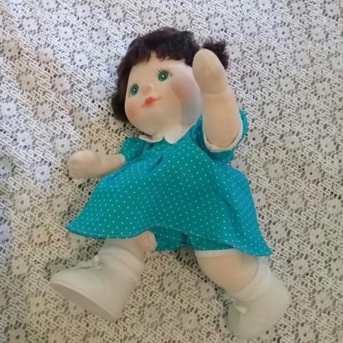 muñeca antigua epoca cabbage