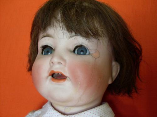 muñeca antigua porcelana alemana preciosa