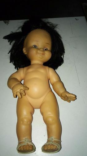 muñeca antigua rayito de sol 30 cm