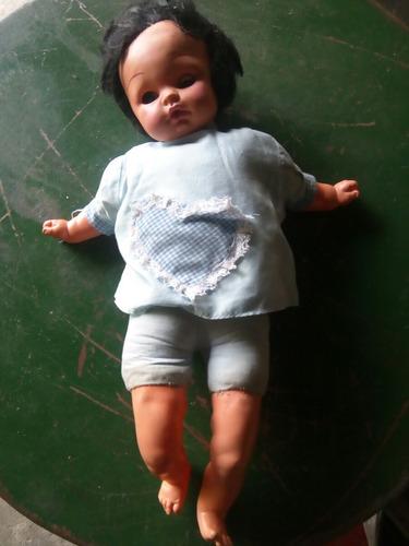 muñeca antigua ropa original