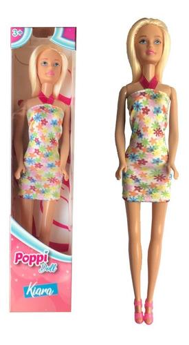 muñeca articulada kiara 30 cm varios colores