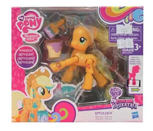 muñeca articulada my little pony original hasbro