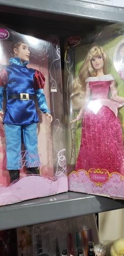 muñeca aurora y principe bella durmiente disney tipo barbie