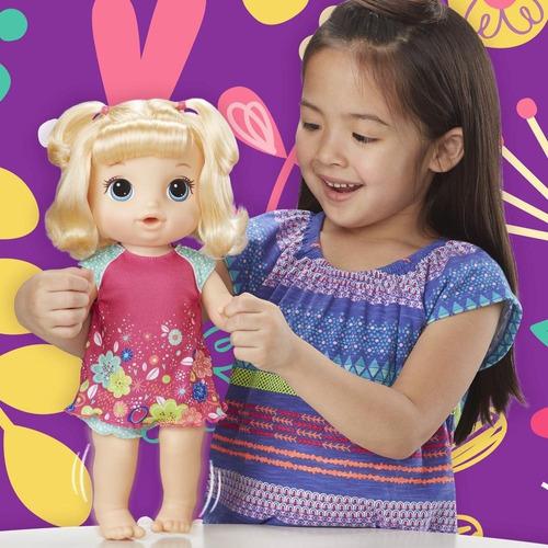 muñeca baby alive bebe va al baño hasbro (6401)