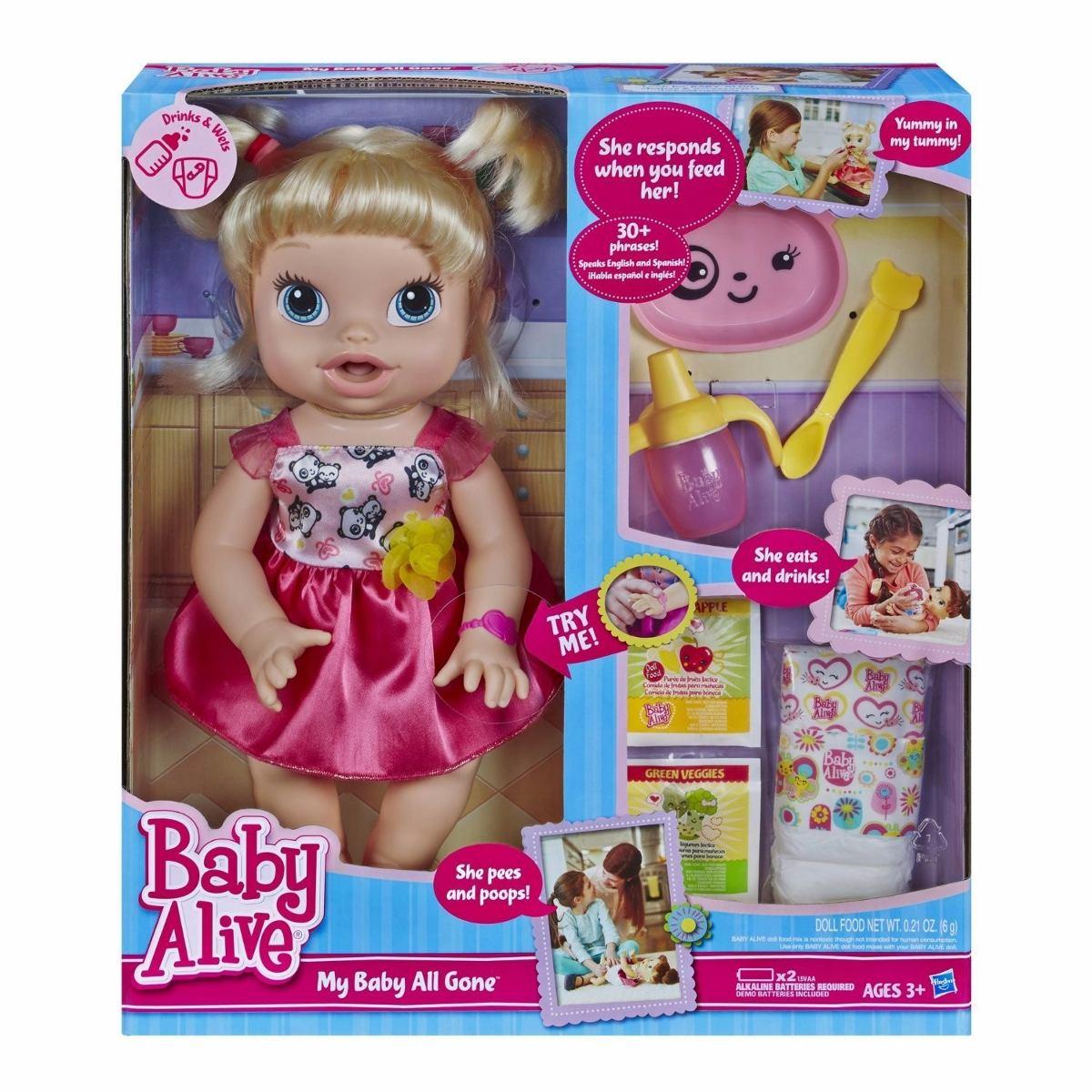 Toys R Us Potty Watch : Muñeca baby alive bebita divertida hasbro s en