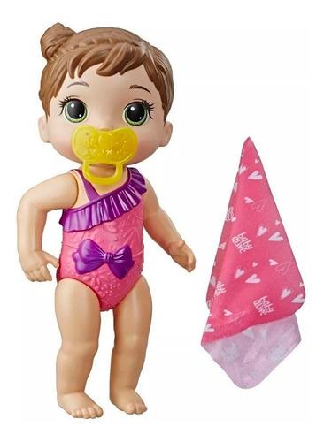 muñeca baby alive chapoteos y abrazos hora del baño