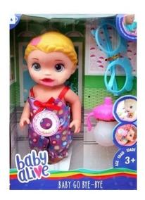 Querido Juguete Muñeca Bebe Alive Habla Baby Llora 4A5jRL