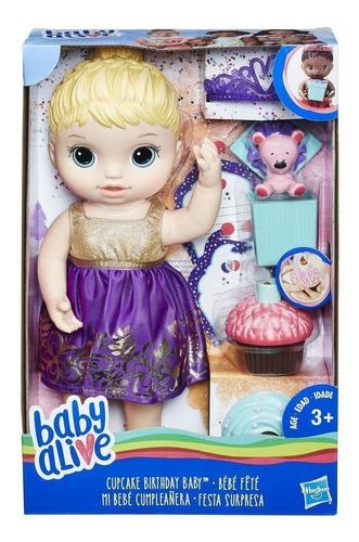muñeca baby alive muñeca bebé cumpleañera niña