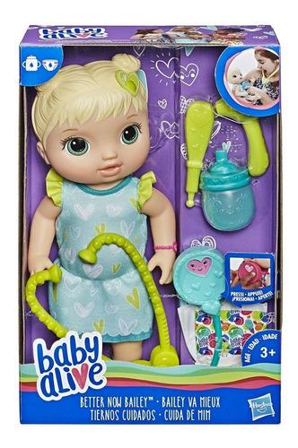 muñeca baby alive tiernos cuidados