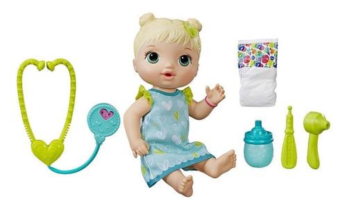 muñeca baby alive tiernos cuidados hace pis original hasbro