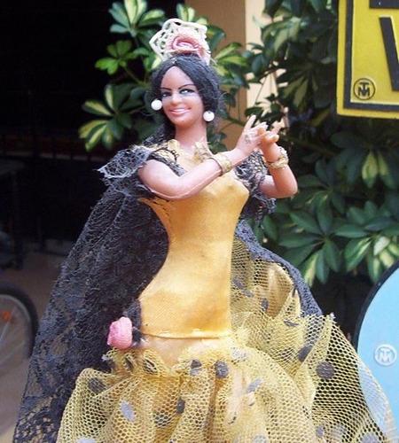 muñeca bailarina española.